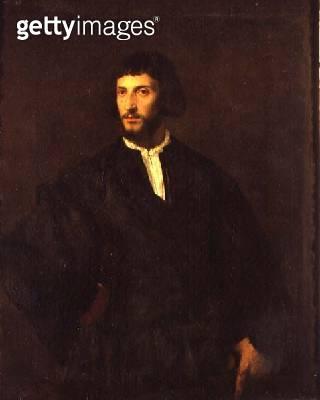 <b>Title</b> : Portrait of a Man (oil on canvas)<br><b>Medium</b> : oil on canvas<br><b>Location</b> : Louvre, Paris, France<br> - gettyimageskorea