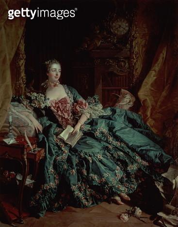 Madame de Pompadour - gettyimageskorea