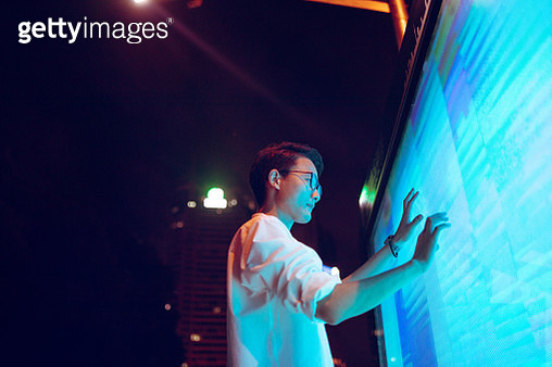 Connect the future, Shanghai, China - gettyimageskorea