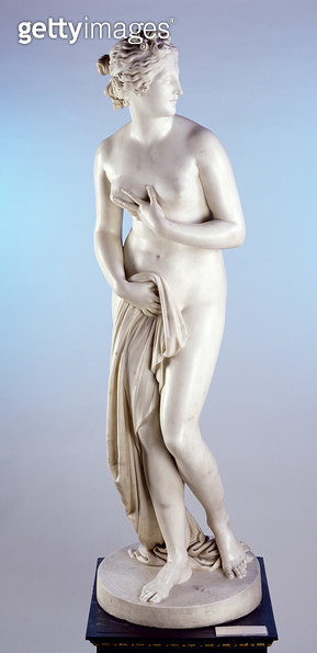<b>Title</b> : Venus, 1818-20 (stone)<br><b>Medium</b> : stone<br><b>Location</b> : Leeds Museums and Galleries (City Art Gallery) U.K.<br> - gettyimageskorea