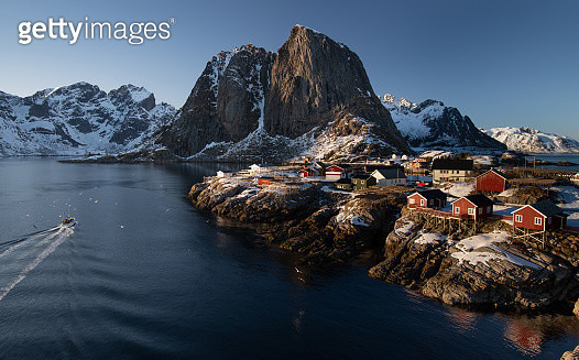 Lofoten Landscape, Norway - gettyimageskorea