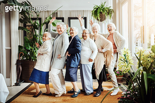 We found the fountain of youth…it's called having fun! - gettyimageskorea