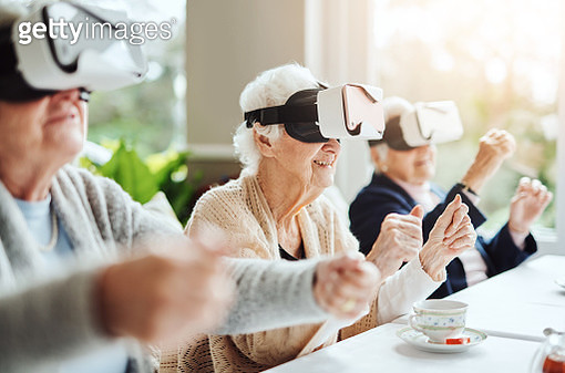 Revolutionising what retirement means with virtual reality - gettyimageskorea