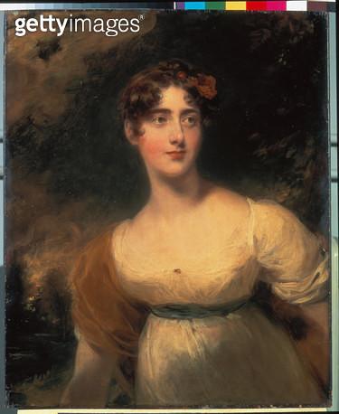Milady Emily Harriet Fitzroy (1792-1881). Um 1815. - gettyimageskorea