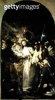 <b>Title</b> : The Taking of Christ, c.1798 (oil on canvas)<br><b>Medium</b> : oil on canvas<br><b>Location</b> : Prado, Madrid, Spain<br> - gettyimageskorea