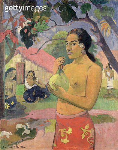 <b>Title</b> : Woman with Mango, 1893 (oil on canvas)<br><b>Medium</b> : oil on canvas<br><b>Location</b> : Hermitage, St. Petersburg, Russia<br> - gettyimageskorea