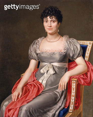 <b>Title</b> : Portrait of a Young Woman Seated Three-Quarter Length (oil on canvas)<br><b>Medium</b> : oil on canvas<br><b>Location</b> : Private Collection<br> - gettyimageskorea