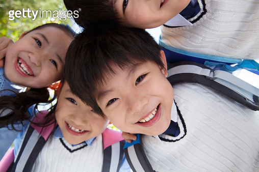 Happy happy pupils - gettyimageskorea