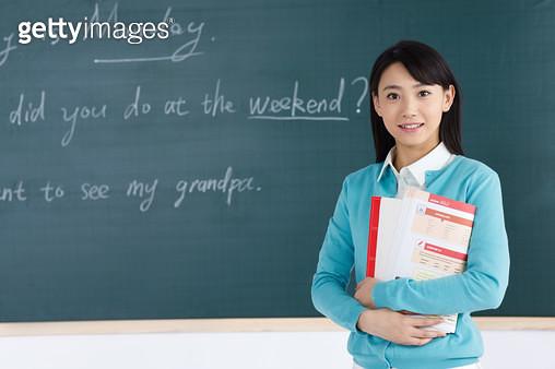 In class the teacher in the classroom - gettyimageskorea
