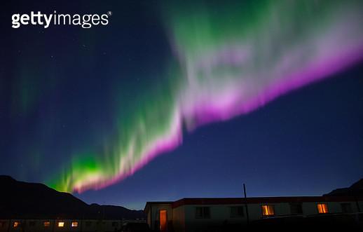 Colorful Aurora Borealis - gettyimageskorea