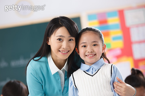 The teacher and pupil - gettyimageskorea