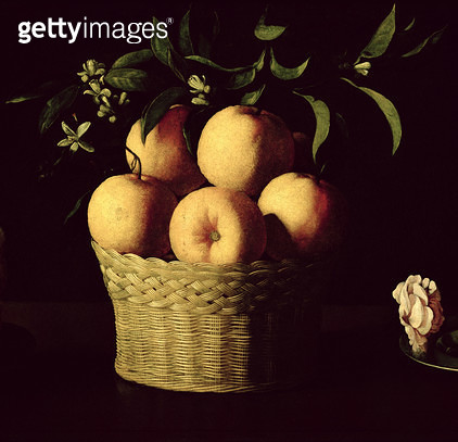 <b>Title</b> : Still Life (oil on canvas) (detail of 20986)<br><b>Medium</b> : <br><b>Location</b> : Norton Simon Collection, Pasadena, CA, USA<br> - gettyimageskorea