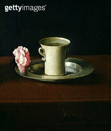 <b>Title</b> : Still Life (oil on canvas) (detail of 209896)<br><b>Medium</b> : <br><b>Location</b> : Norton Simon Collection, Pasadena, CA, USA<br> - gettyimageskorea