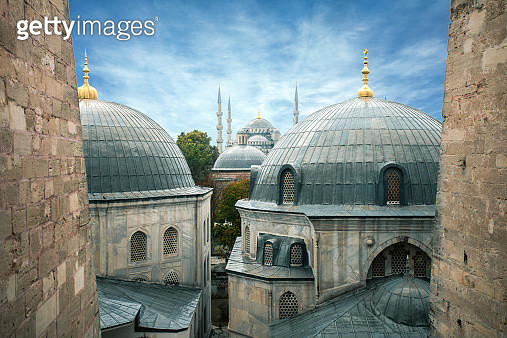 Blue Mosque - gettyimageskorea