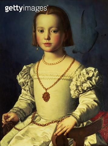 Portrait of Isabella de' Medici - gettyimageskorea