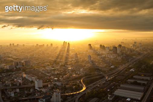 View of Bangkok city - gettyimageskorea