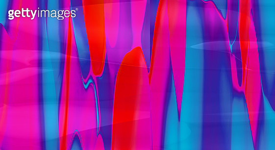 Fluid color wave shapes. Abstract colorful background: Fuchsia to blue - gettyimageskorea