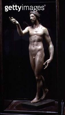 Christ Resurrected (painted plaster) - gettyimageskorea
