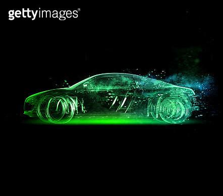 Car glass green - gettyimageskorea