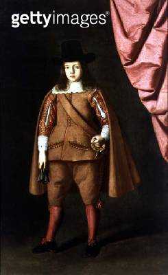 <b>Title</b> : Portrait of a boy (The Duke of Medinaceli) (oil on canvas)<br><b>Medium</b> : oil on canvas<br><b>Location</b> : Hospital Tavera, Toledo, Spain<br> - gettyimageskorea
