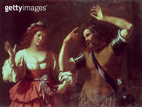 <b>Title</b> : Samson and Delilah<br><b>Medium</b> : <br><b>Location</b> : Private Collection<br> - gettyimageskorea