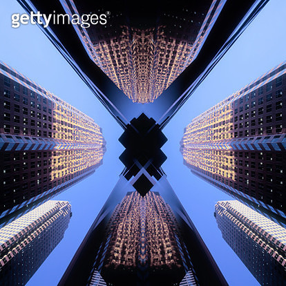 Financial district of Toronto, Canada - gettyimageskorea