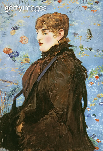 <b>Title</b> : Autumn (Mery Laurent), 1882 (oil on canvas)<br><b>Medium</b> : oil on canvas<br><b>Location</b> : Musee des Beaux-Arts, Nancy, France<br> - gettyimageskorea