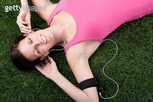 Runner resting - gettyimageskorea