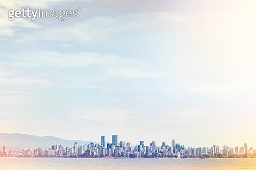 Vancouver City from a distance - gettyimageskorea