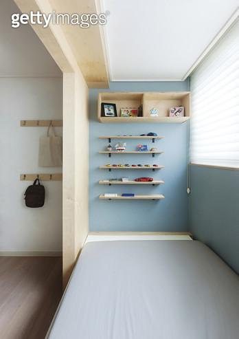 인테리어,주택,어린이방,침대,선반 - gettyimageskorea