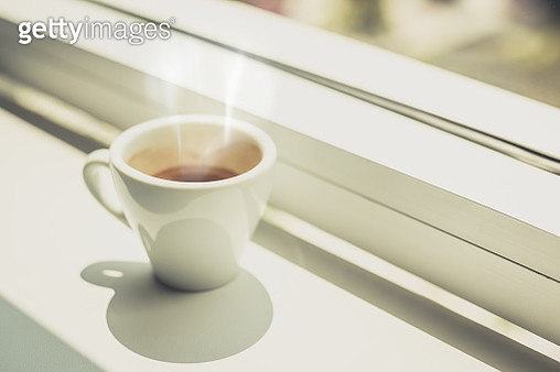 Espresso hot cup of coffee - gettyimageskorea