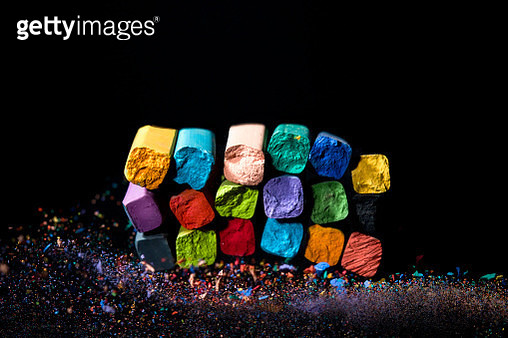 colored chalks - gettyimageskorea