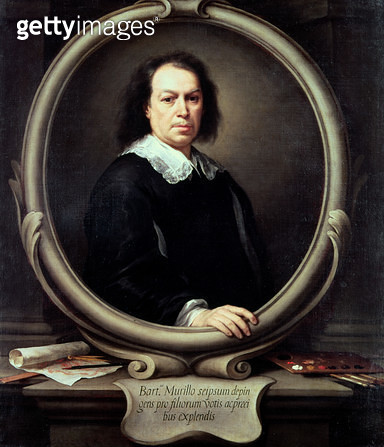 <b>Title</b> : Self portrait, c.1670-73 (oil on canvas)<br><b>Medium</b> : oil on canvas<br><b>Location</b> : National Gallery, London, UK<br> - gettyimageskorea