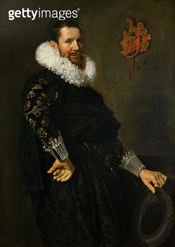 <b>Title</b> : Paulus van Beresteyn (1588-1636) c.1619-20 (oil on canvas)<br><b>Medium</b> : oil on canvas<br><b>Location</b> : Louvre, Paris, France<br> - gettyimageskorea