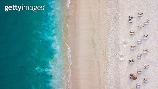 Aerial beach view - gettyimageskorea
