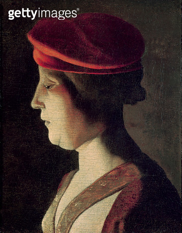 <b>Title</b> : Head of a Woman (oil on canvas)<br><b>Medium</b> : oil on canvas<br><b>Location</b> : Private Collection<br> - gettyimageskorea