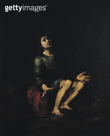 <b>Title</b> : Daniel in the Lions' Den (oil on canvas)<br><b>Medium</b> : oil on canvas<br><b>Location</b> : Musee Bonnat, Bayonne, France<br> - gettyimageskorea