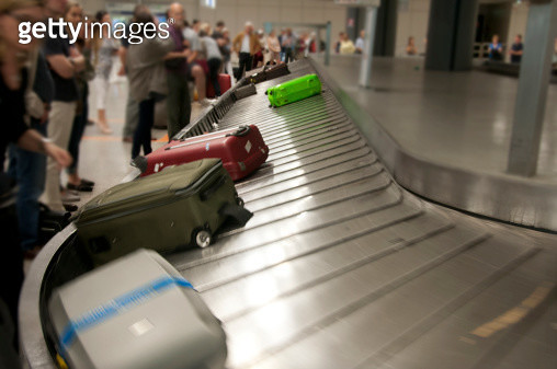 Airport luggage claim - gettyimageskorea
