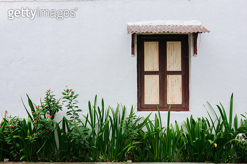 Closed Window Of House - gettyimageskorea