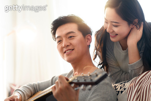 The young woman of happiness - gettyimageskorea