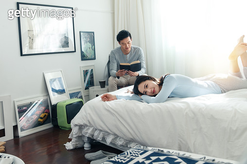 Young couples home life - gettyimageskorea