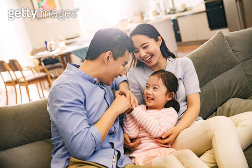 My happiness in the living room - gettyimageskorea