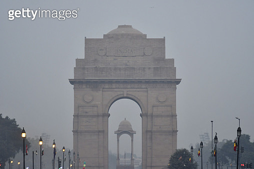 The India Gate monument - gettyimageskorea