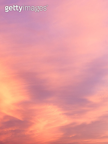 Full frame of the low angle view of clouds In sky during sunset with pink and fuchsia clouds. Valencian Community, Spain - gettyimageskorea