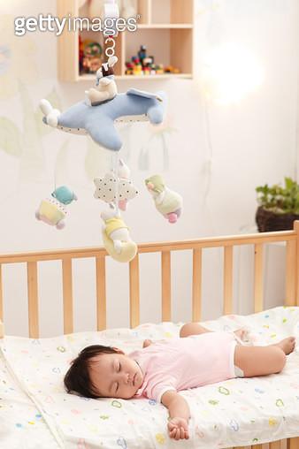 The baby to sleep - gettyimageskorea
