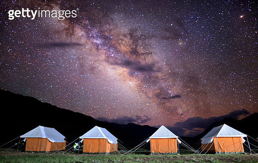 Night at Chandratal Lake - gettyimageskorea
