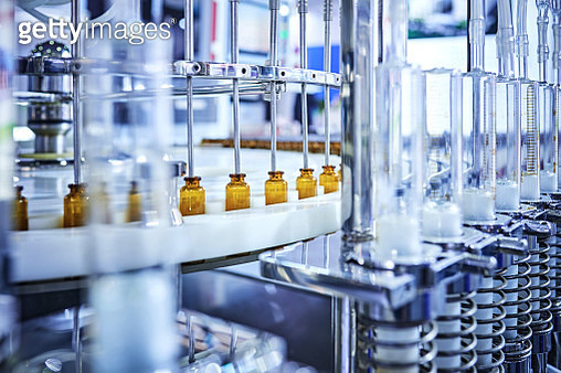 Medicine Bottle Production Line - gettyimageskorea