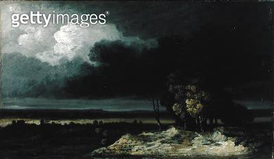 <b>Title</b> : Gathering Storm (oil on canvas)<br><b>Medium</b> : oil on canvas<br><b>Location</b> : Walters Art Museum, Baltimore, USA<br> - gettyimageskorea