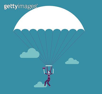 Parachuting - gettyimageskorea