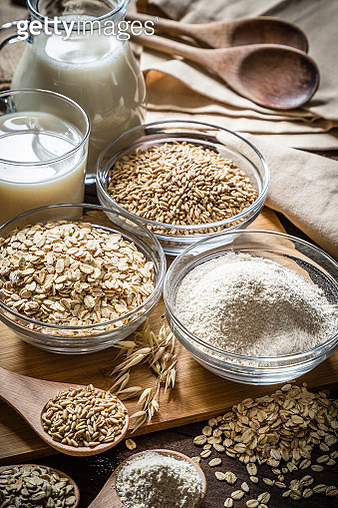 Various types of oat - gettyimageskorea